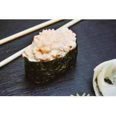 как приготовить суши с крабом и острым соусом